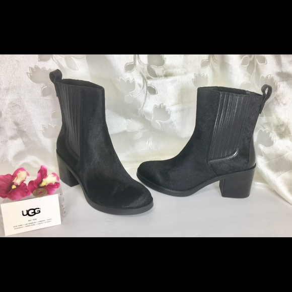 dbfe7f84766 ❤️ UGG Camden Exotic Calf Hair Pull on Boots NIBX NWT